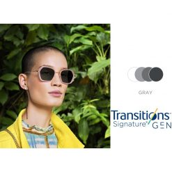 Tròng Kính Essilor Crizal Transitions Signature Gen8 Gray