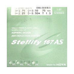 Tròng Kính Hoya Stellify 1.67 AS