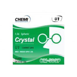 Tròng Kính Chemi 1.56 SP Crystarl U1