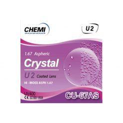 Tròng Kính ChemiLens 1.67 ASP U2