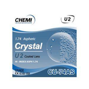 Tròng Kính ChemiLens 1.74 ASP U2