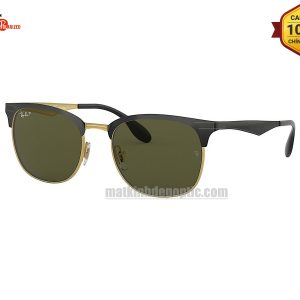 RayBan Clubmaster Metal RB3538-187/9A(53CN)