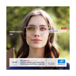 Tròng Kính Essilor Crizal Blue UV Capture 1.67 AS