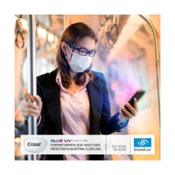 Tròng Kính Essilor Crizal Blue UV Capture 1.59 AS Airwear
