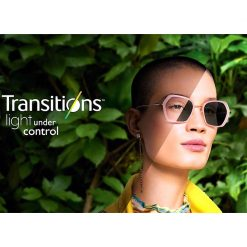 Tròng Kính Essilor Transitions Classic 1.60 AS Gray