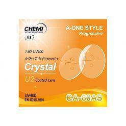 Tròng Kính ChemiLens Đa Tròng A-One 1.60 U2