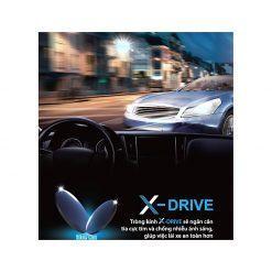 Tròng Kính ChemiLens X-DRIVE 1.60 ASP U2
