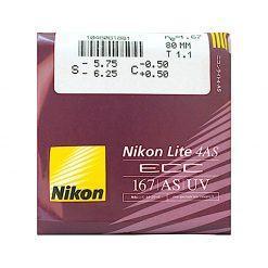 Tròng Kính Nikon Lite 4AS ECC 1.67