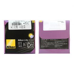 Tròng Kính Nikon Lite 4DAS SeeCoat Plus UV 1.67