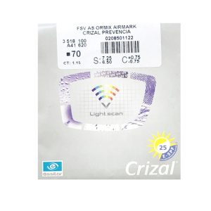 Tròng Kinh Essilor Crizal Prevencia Airmark 1.56 AS