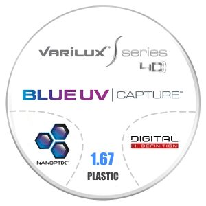 Đa Tròng Essilor Varilux S Series 4D Blue UV 1.67