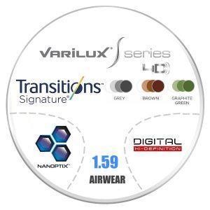 Đa Tròng Essilor Varilux S Series 4D Transition Signature 7 1.59 AS Airwear