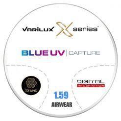 Đa Tròng Essilor Varilux X Clusive Blue UV 1.59 AS Airwear